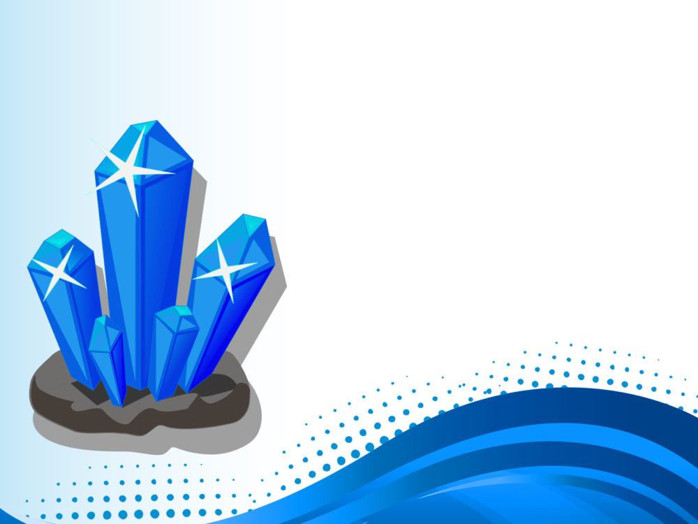 3D Crystal Backgrounds - 3D, Blue Templates - Free PPT Backgrounds - 3d powerpoint template