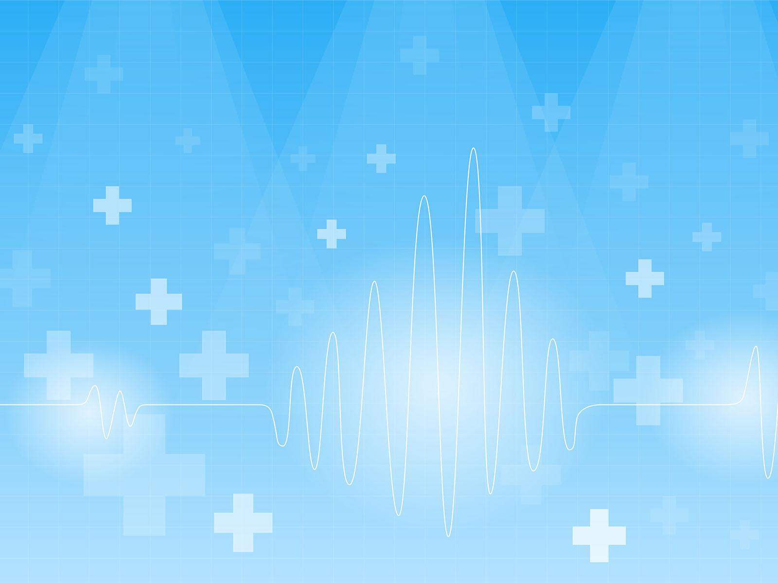 Gangster Wallpaper 3d Cardiogram On A Blue Backgrounds Blue Health Medical