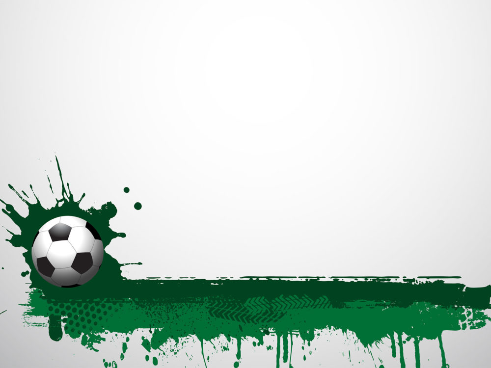 Football Grunge Backgrounds - Green, Sports Templates - Free PPT - sports background for powerpoint