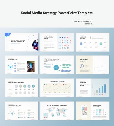 Strategy Archives - PPTWear - Simple PowerPoint Templates and