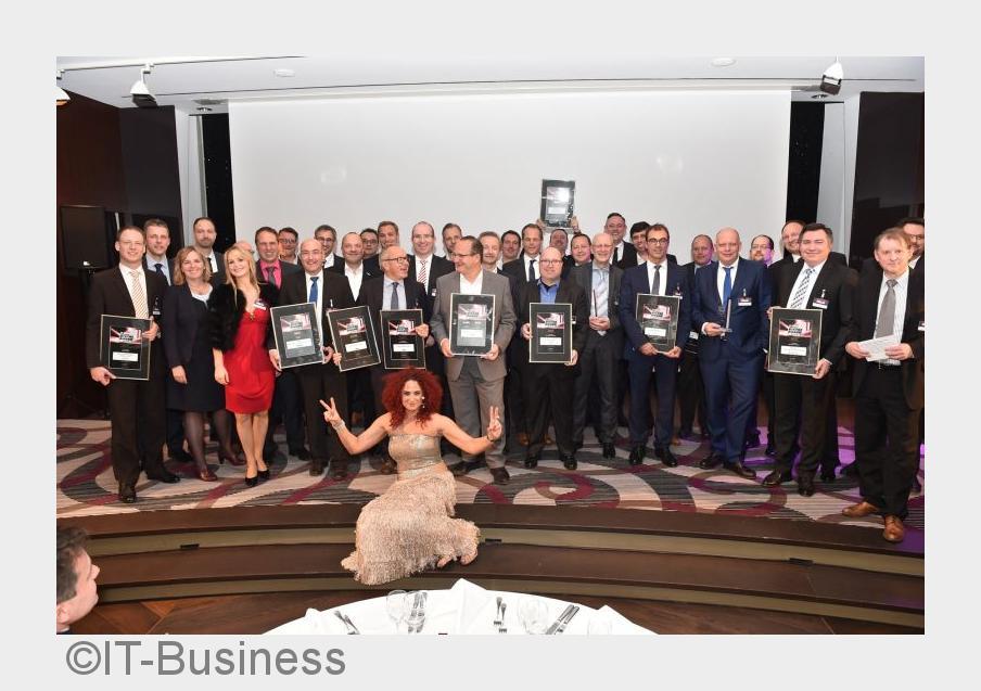 Westcon erhält den IT-Business Distri Award Gold 2015/2016