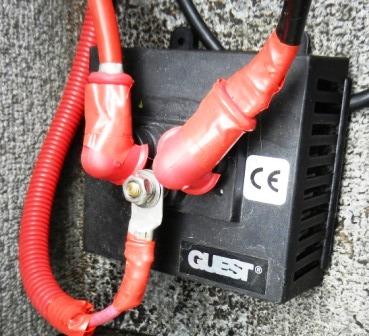 Battery Isolator, Boat Wiring