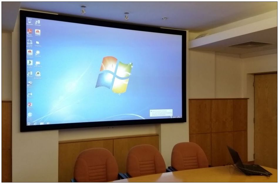 Projector installation in boardrooms and meeting rooms - Nationwide - presentation projectors