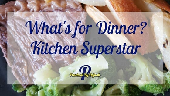 What's For Dinner? Kitchen Superstar: George Foreman Grill