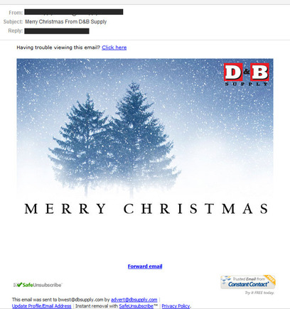 Remember a Holiday \u0027Thank You\u0027 Email Practical Ecommerce - holiday greeting message
