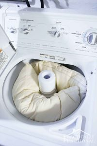 How To Wash Pillows In The Washing Machine!