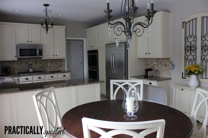 From Hate To Great: A Tale Of Painting Oak Cabinets.