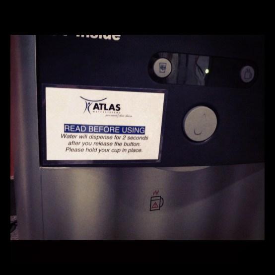 water dispenser instructions