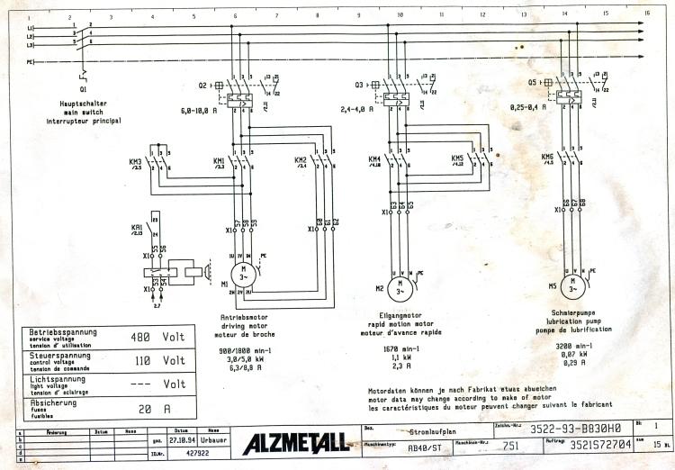breaker schematic
