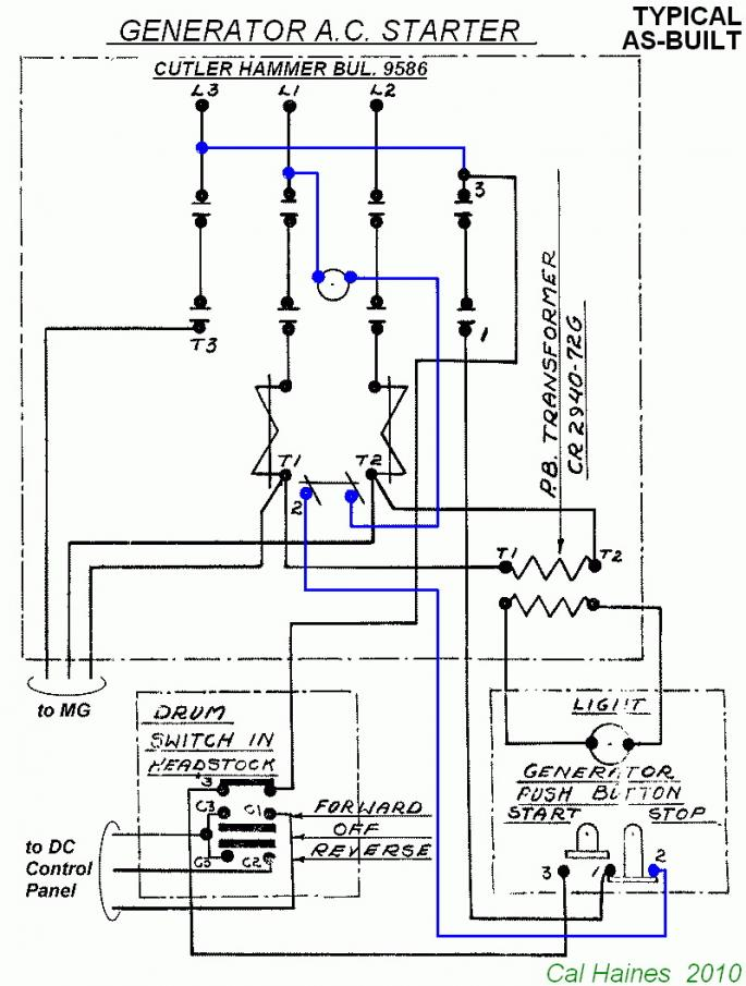 10ee mg starter circuit with cutler