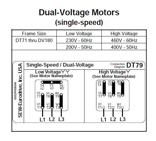 3ph motor wiring diagrams