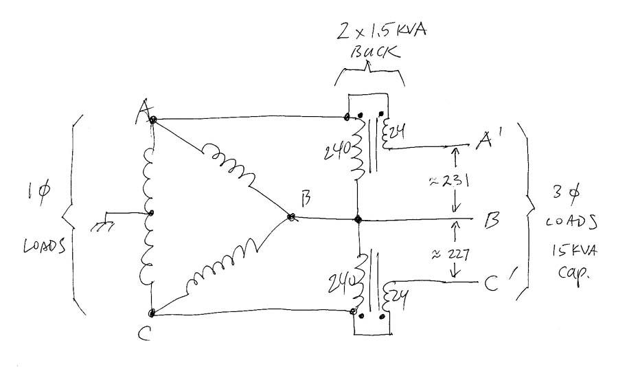 480v 3 Phase To 240v Single Phase Transformer Wiring Diagram