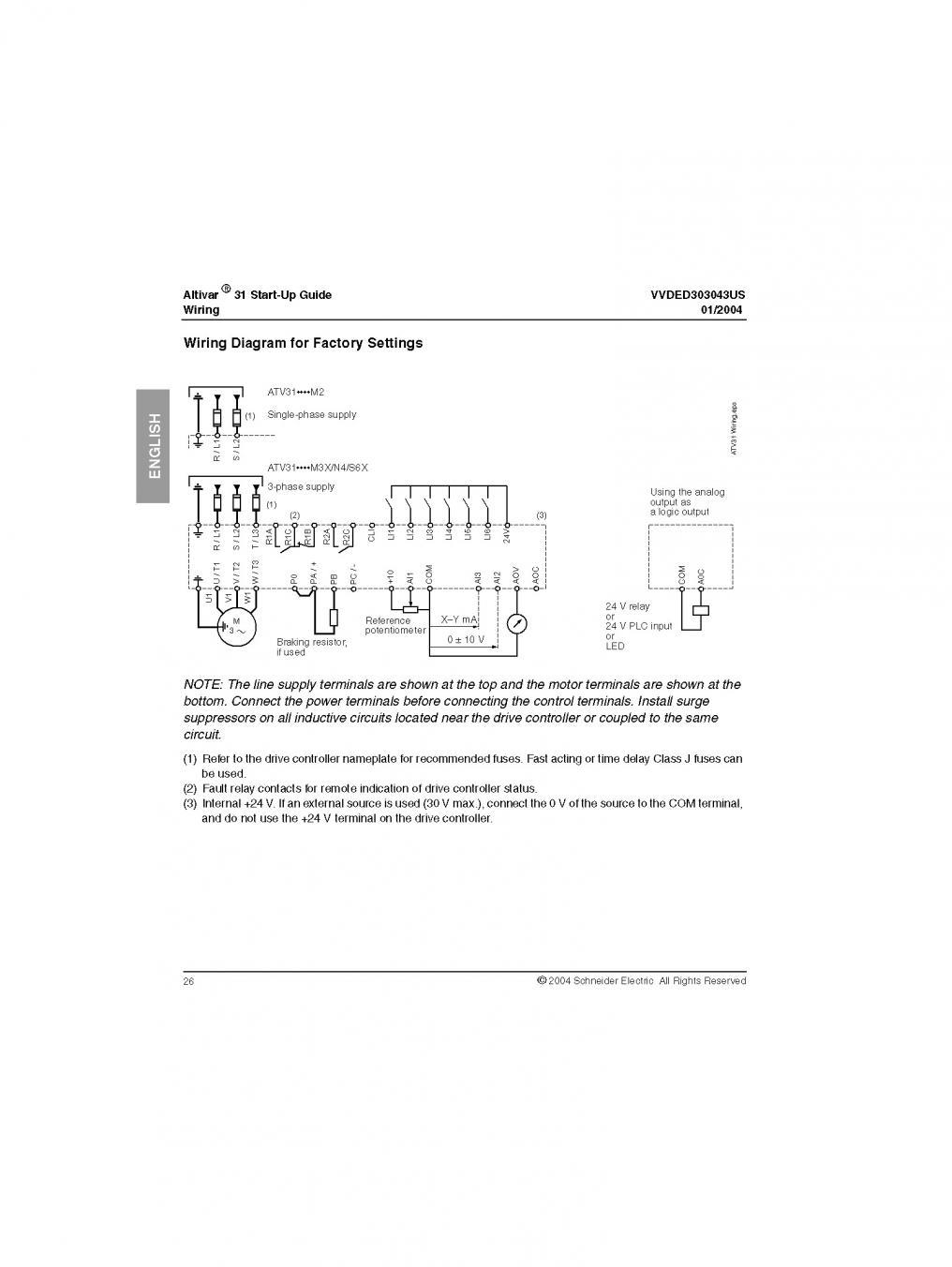 Altivar 61 Control Wiring Diagram Auto Electrical 31