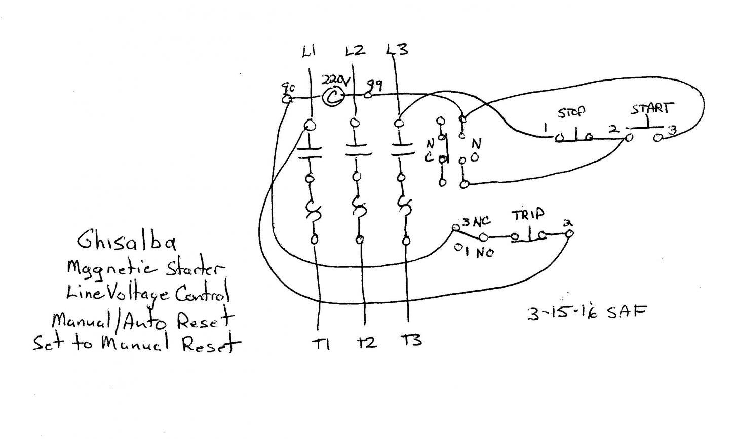 Furnas 3 Phase Motor Starter Wiring Diagram