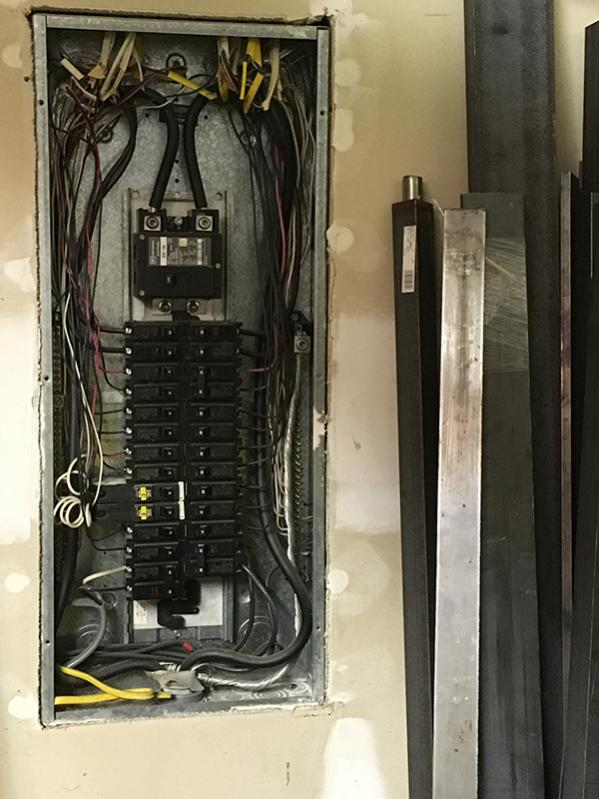 How do you run the wire from single phase electrical panel to RPC