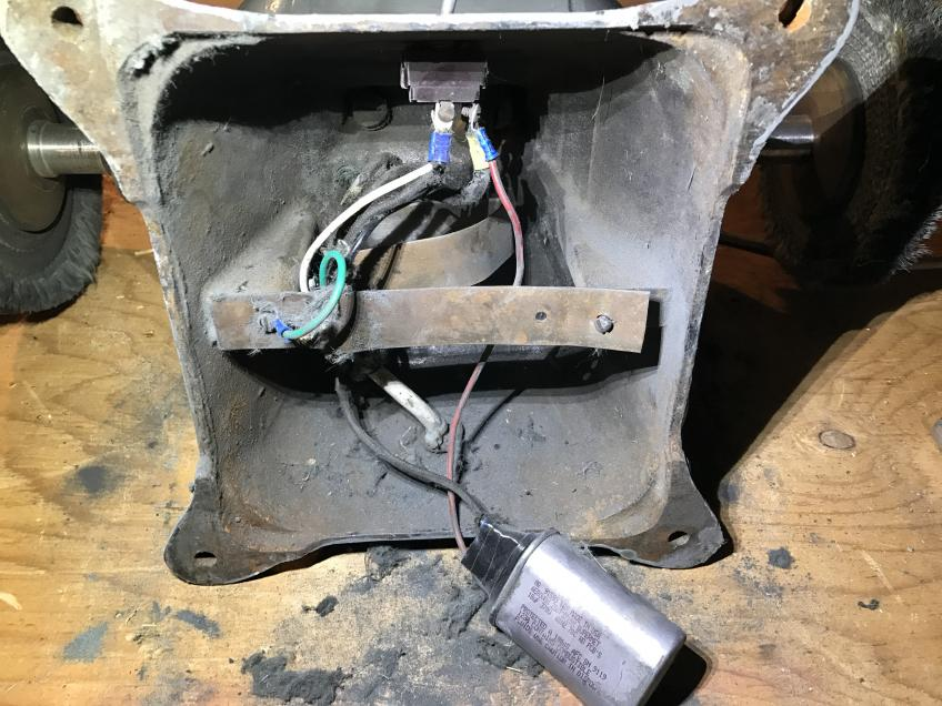1hp bald or buffer capacitor question