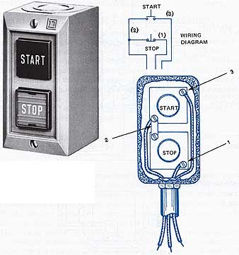 Start - Stop Push Button Wiring