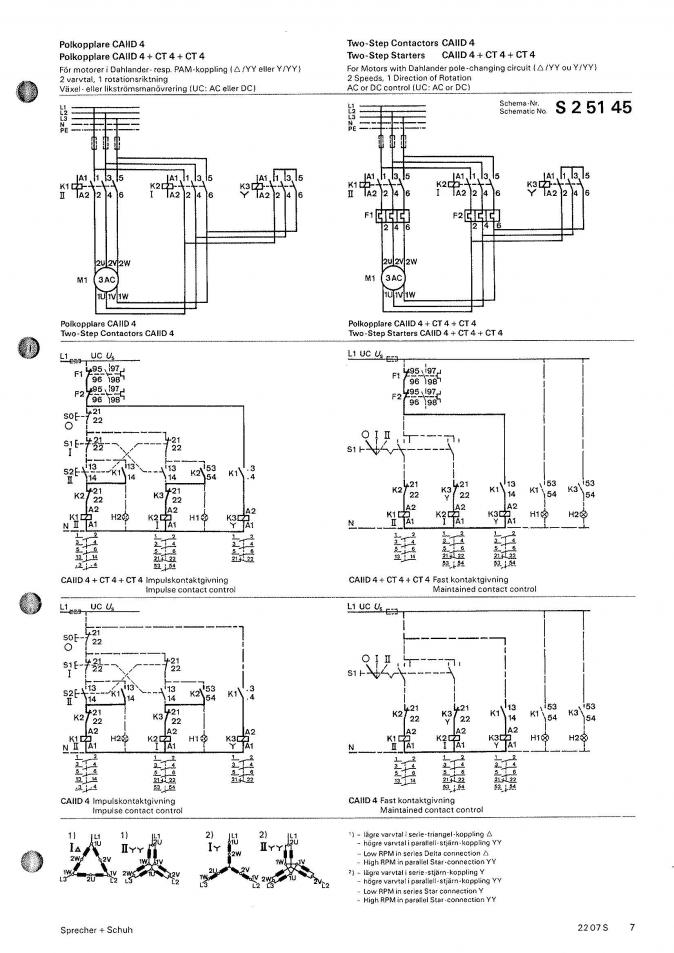 3 Phase 2 Speed Motor Wiring Diagram Schematic Diagram Electronic