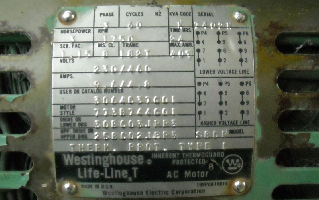 Wiring Diagram Motor Can My 3 Phase Air Comp Be Wired For Household 220v