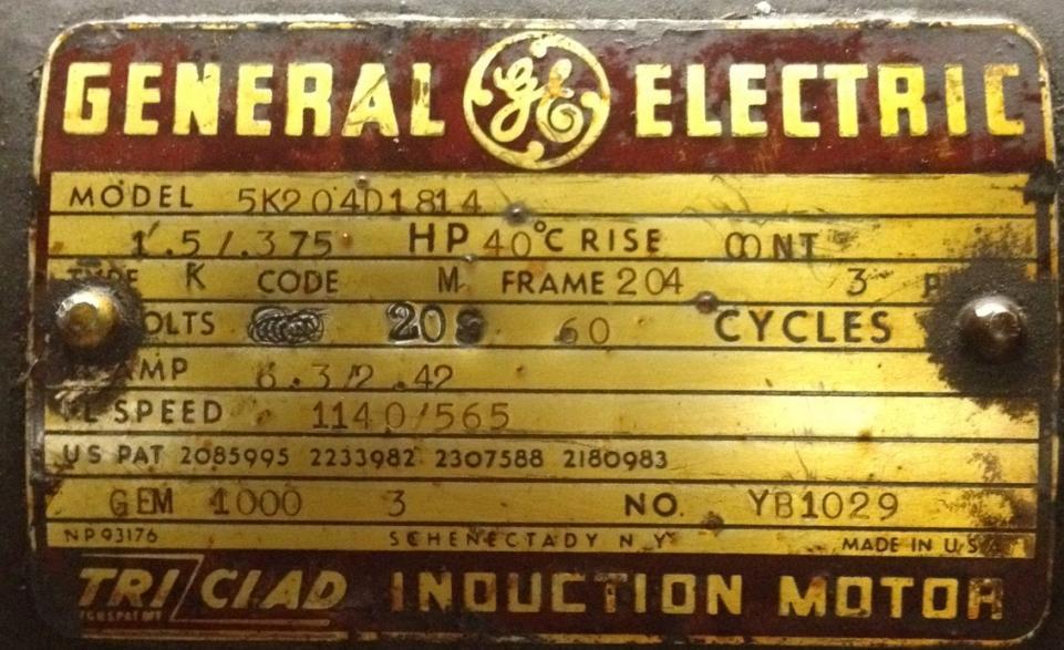 3 phase 2 speed motor wiring - need help