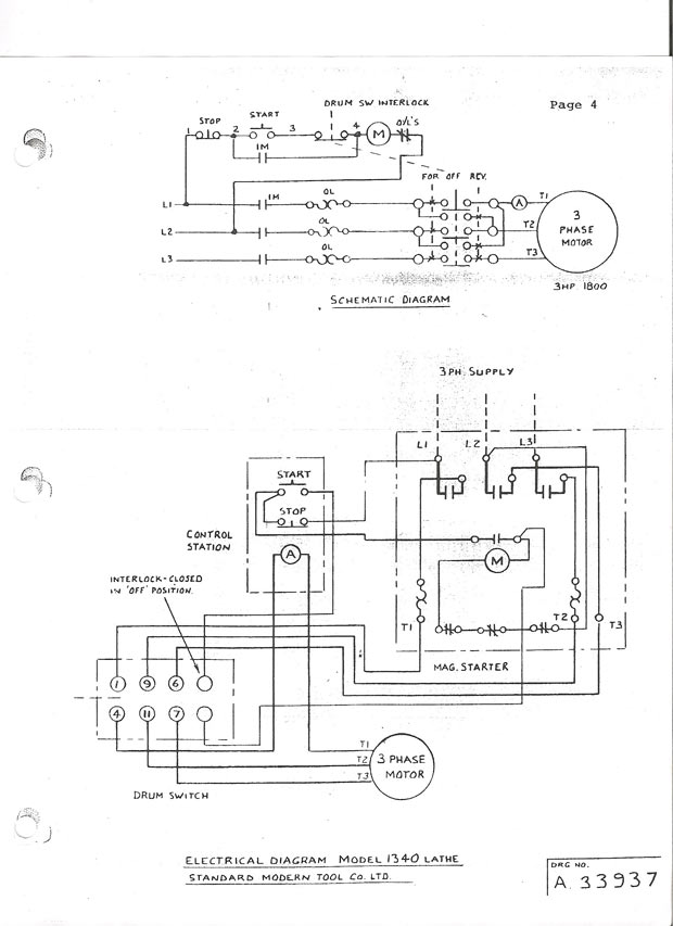 Square D Barrel Switch Wiring Diagram Electronic Schematics