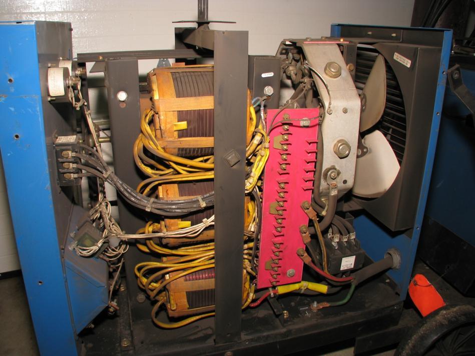 Successful Miller CP300 Welder Haas-Kamp Single Phase Conversion