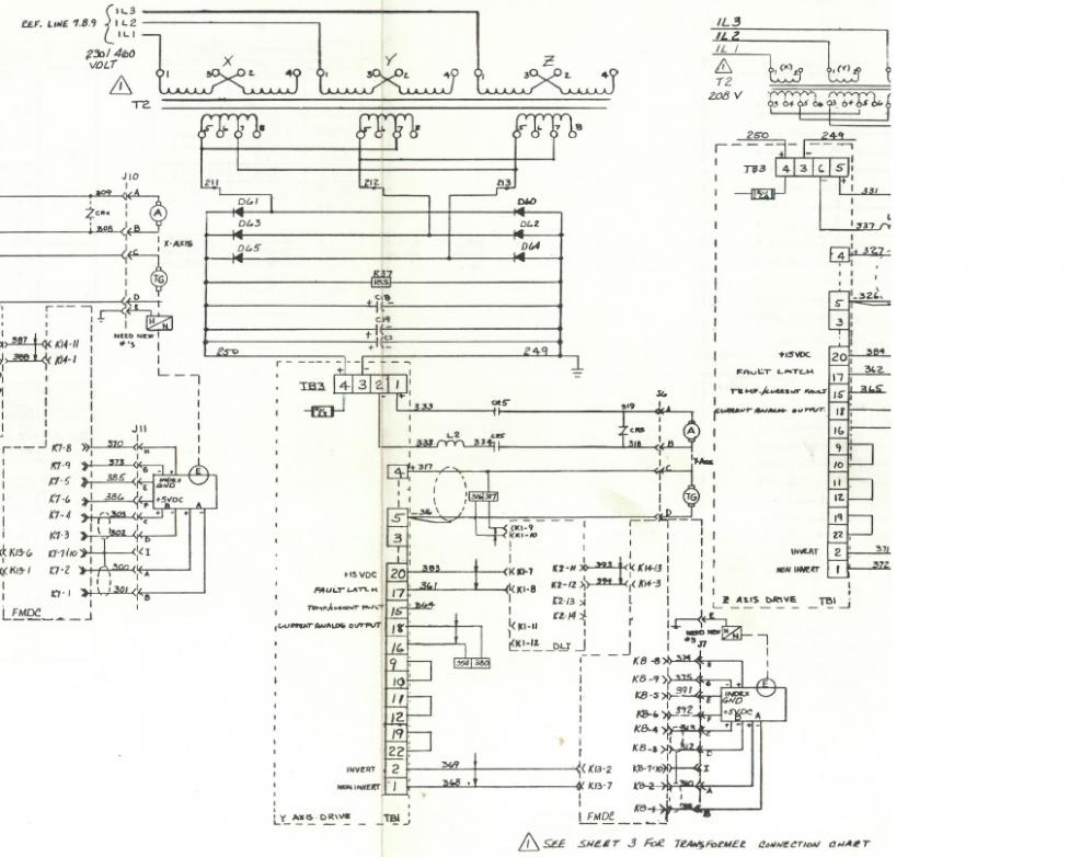 transformer wiring schematic