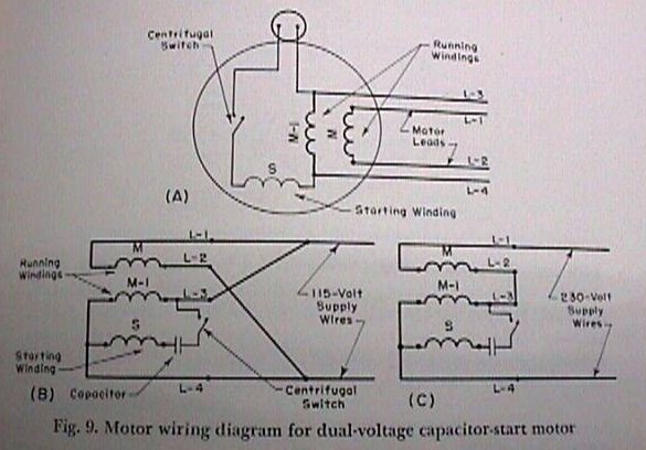 120vac Motor Diagram Download Wiring Diagram