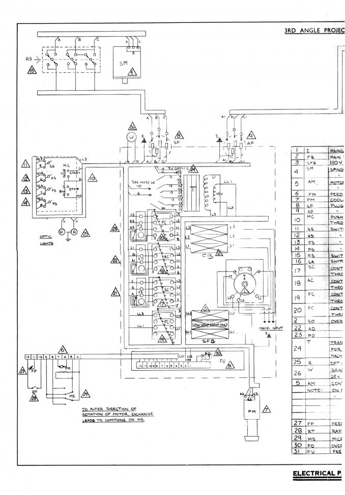 bridgeport series 1 wiring diagram