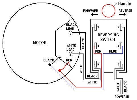 Electric Motor Reversing Switch Wiring Diagram Wiring Schematic