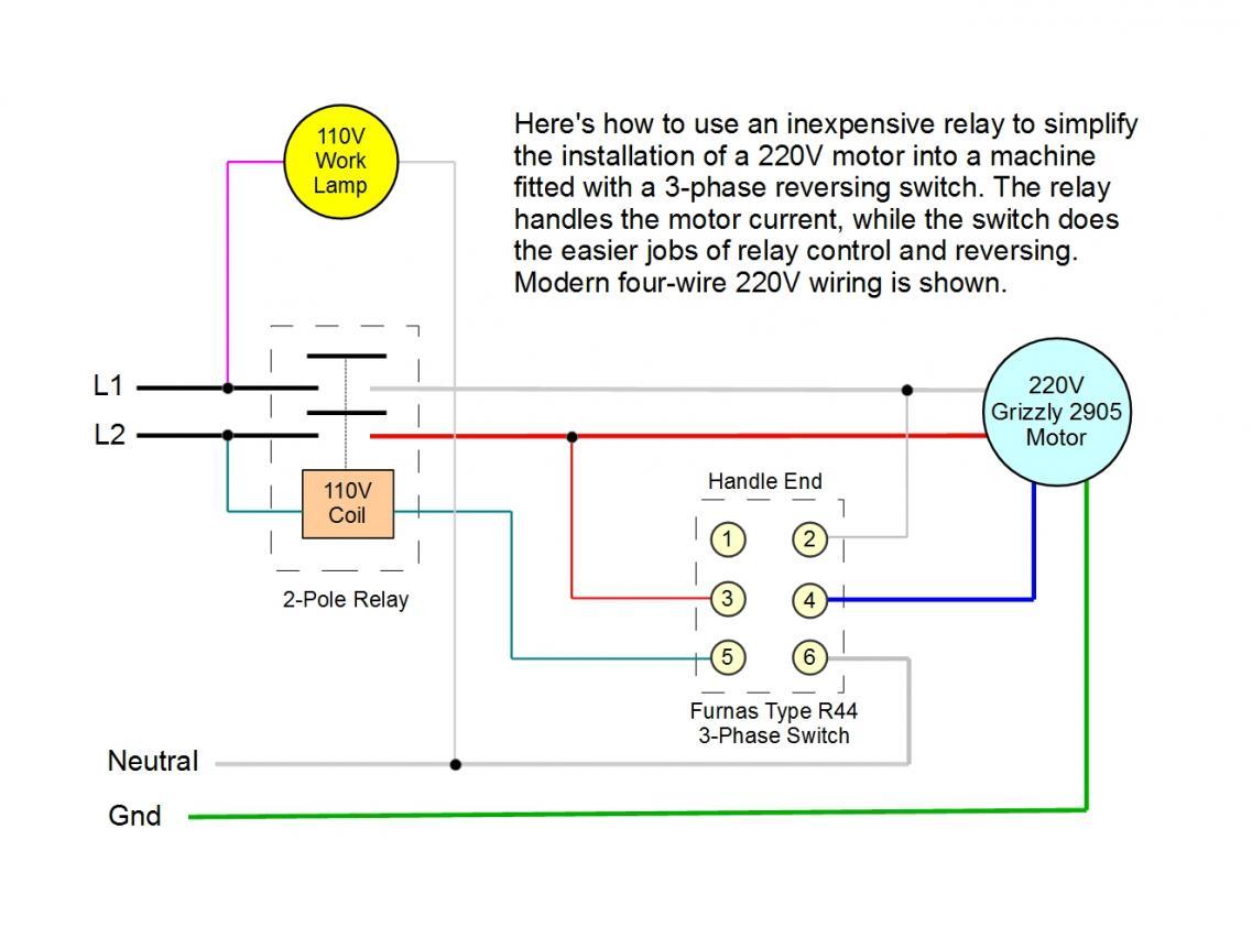 drum switch wiring diagram