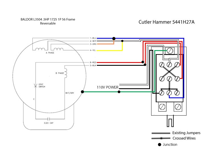 1 2 hp electric motor wiring diagram