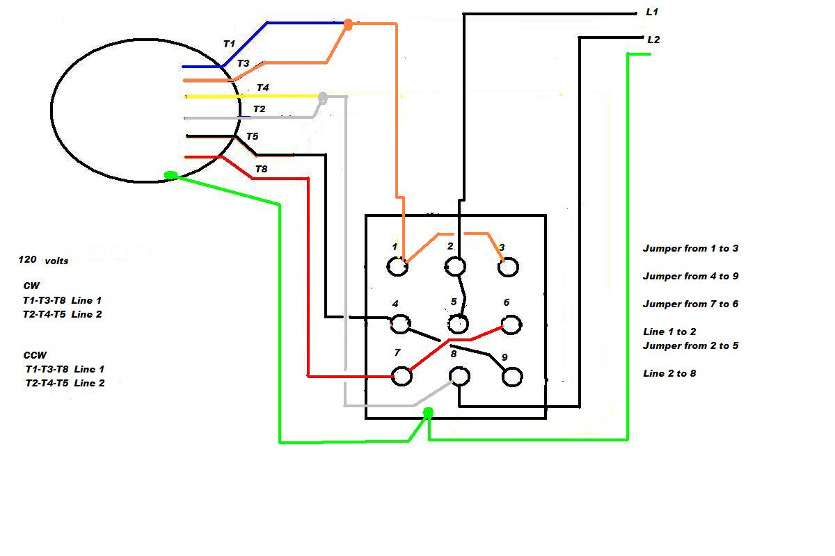 4 wire plug wiring diagram for 230v