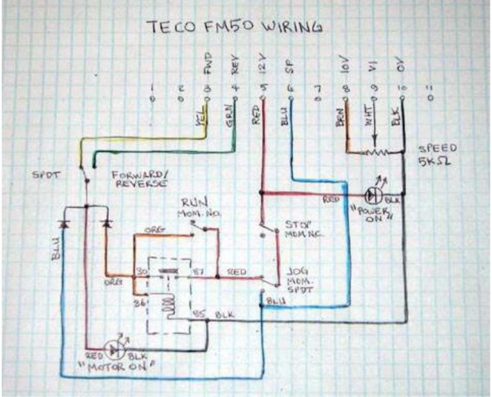 Yaskawa V1000 Wiring Diagram - Wiring  Schematics Diagram