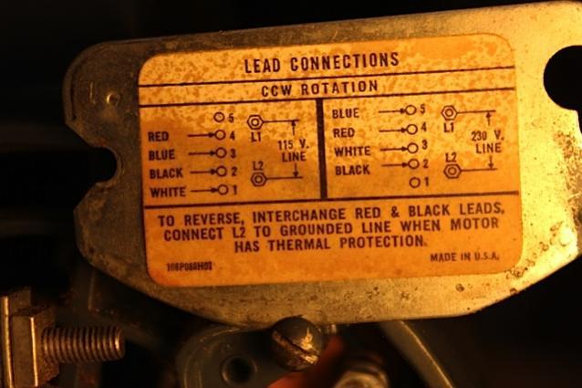 westinghouse ac motor wiring diagram