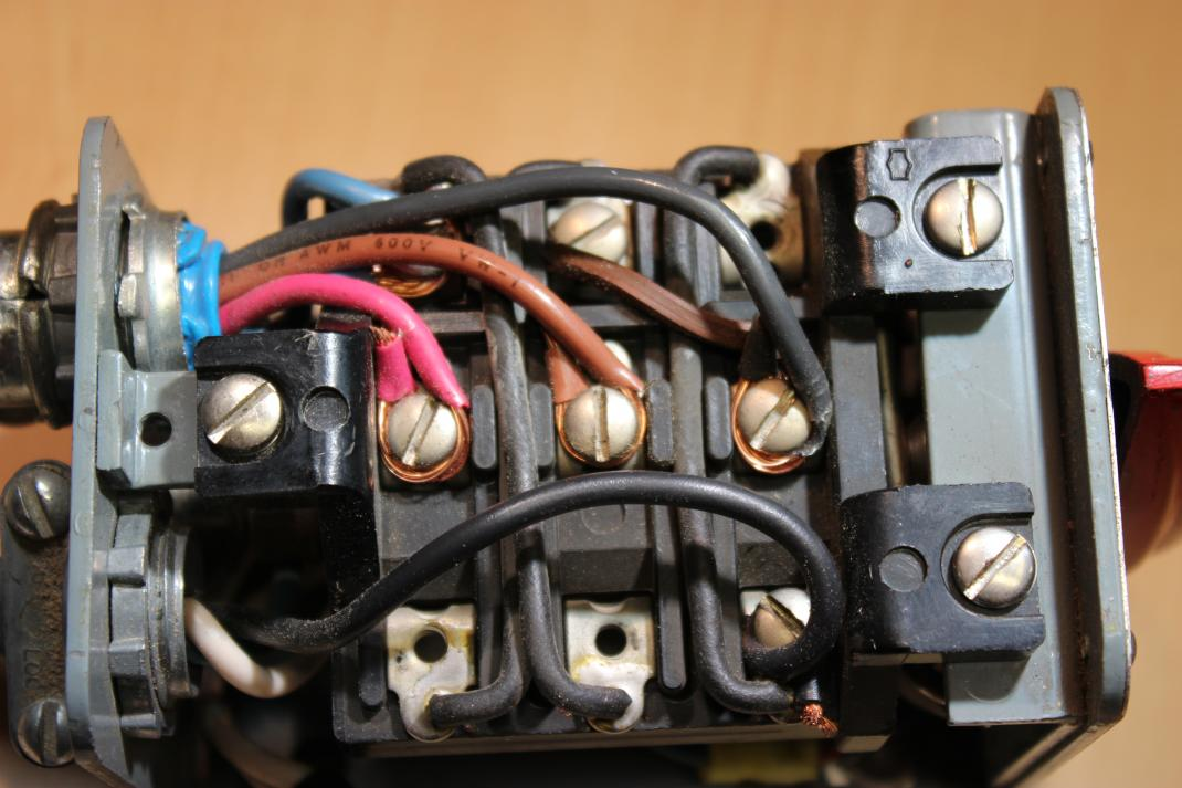 Help Please ~ Wiring the Switch to the motor