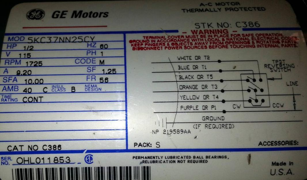 Ge Dc Motor Wiring Diagram Wiring Diagrams