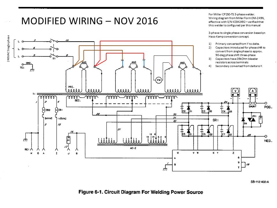 3 phase wiring colors