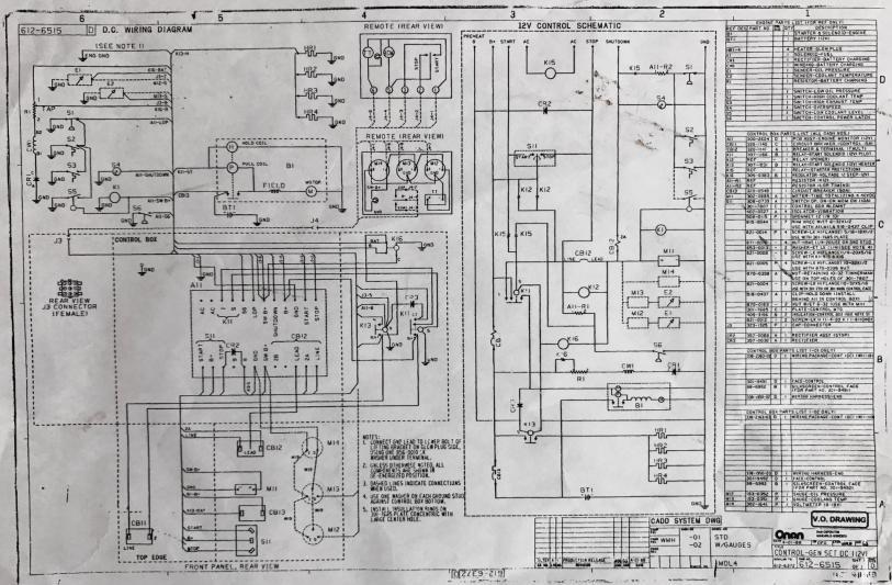 OT- Onan 20 kw generator- short in electricalpossible reasons