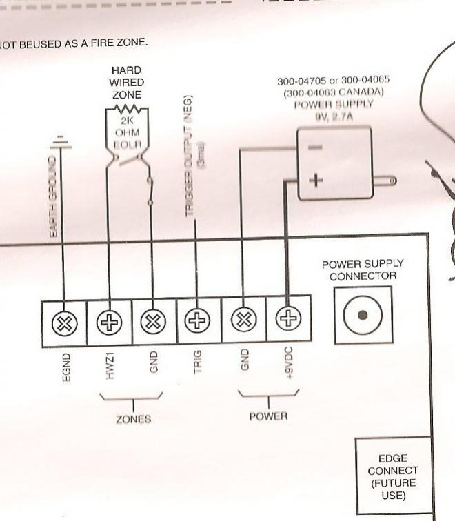dsc motion detector wiring diagram