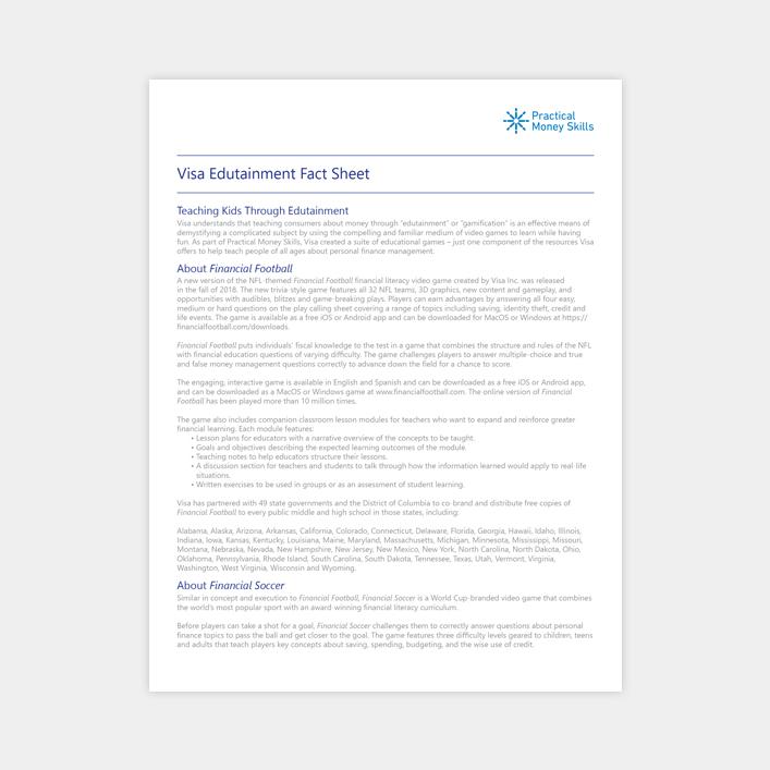 Press Kit - personal info sheets