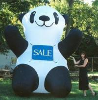Practical Promotions - Inflatable Panda