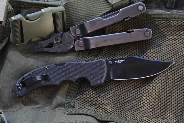 Cold Steel and Leatherman 300 EDC