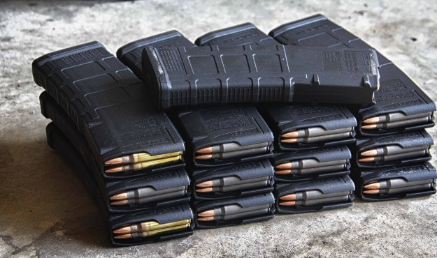 And these are just the training mags...