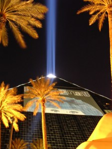 The Luxor Hotel in Las Vegas