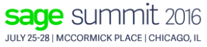 Sage Summit 2016 logo