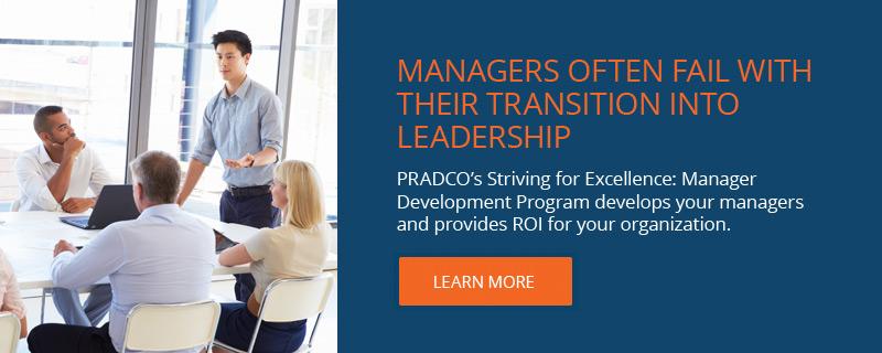 Manager Development Program - PRADCO - Employee Development
