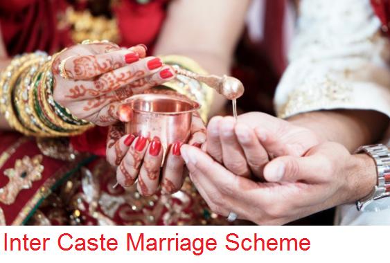 Inter-Caste Marriage Scheme