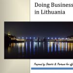 Doing Business in Lithuania