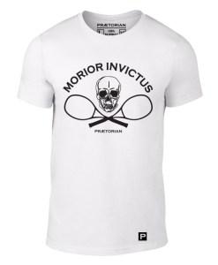 Tricou Praetorian Morior Invictus alb
